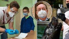 Rozvolnění v Česku od 12. dubna: První stupeň ZŠ ve školách, otevřené zoologické zahrady a ministr zdravotnictví Petr Arenberger (za ANO)