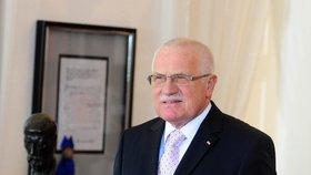 Václav Klaus označil lékaře za arogantní jedince