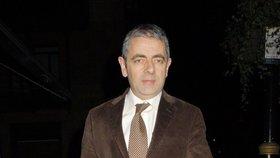 Rowan Atkinson měl hrozivě vyhlížející autonehodu
