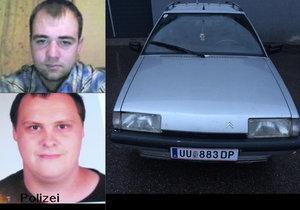 Dva Rakušany hledá rodina i u nás: Policie v Česku nic nedělá, tvrdí sestra pohřešovaného