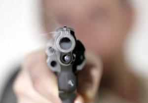 Muž (80) mířil ve vlaku z Brna do Prahy revolverem na hlavu cestujícího. (ilustrační foto)