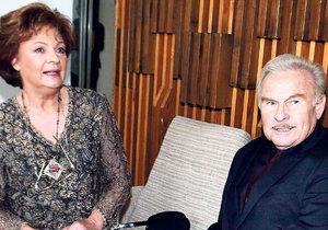 Luděk Munzar s Janou Hlaváčovou