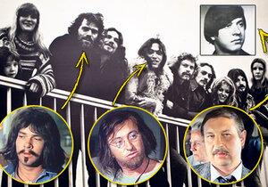 V Němcku část skupiny, která utekla, žila v hippie komunitě.