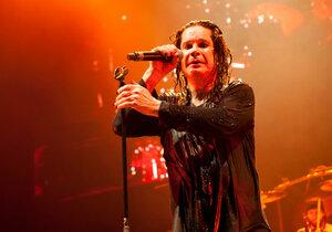 Ozzy Osbourne na koncertě