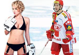 Modelka Veronika Červenka promluvila o životě hokejové manželky.