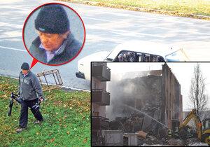 To je on! Muž, který zavinil tragédii ve Frenštátě, při které zemřelo 6 lidí, z toho 3 děti.