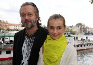 Ivana Jirešová s exmanželem Viktorem Dykem