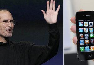 Steve Jobs představil před šesti lety prototyp první generace iPhonů.