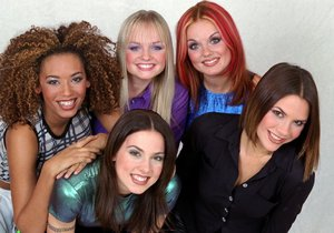 Spice girls v roce 1996