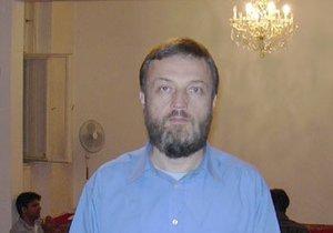 Český muslim Vladimír Sáňka (55). Ještě v roce 2014 byl předsedou Muslimské obce v Praze.