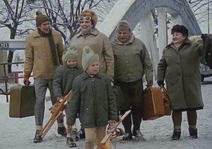 Slavní Homolkovi si vyrazili na zimní rekreaci.