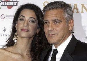 Manželé Amal a George Clooneyovi