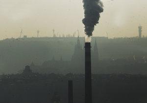 Smog se po týdnu vrátil také do Prahy.