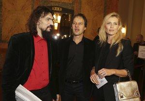 Habera s Peštovou se setkali s hudebníkem Varhanem Orchestrovičem Bauerem.