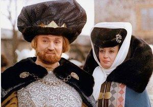 Krále a královnu v Popelce ztvárnili němečtí herci.