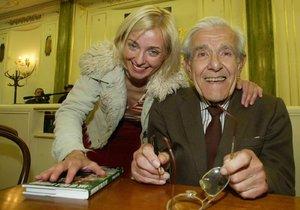 Veronika s tatínkem Václavem Žilkou