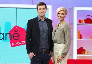 Někdejší moderátoři Snídaně s Novou Hana Mašlíková a Petr Říbal