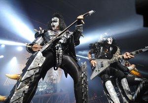 Koncert kapely Kiss.