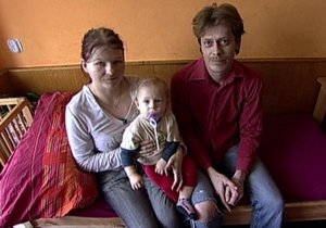 Věra se s Petrem přestěhovala do Kolína.