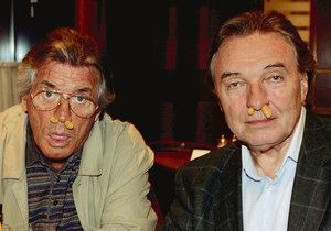 Pierre Brice s českým slavíkem Karlem Gottem