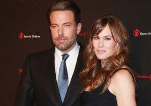 Ben Affleck a Jennifer Garner se rozvádějí.
