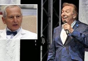 Karel Gott by měl vážně zvolnit, řekl o stavu Slavíka slavný kardiochirurg Jan Pirk.