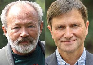 Rudolf Hrušínský a Jan Hrušínský