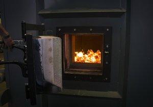 Automatický kotel na biomasu - na takové bude dotace největší.