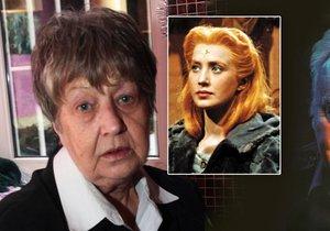Představitelka pricezny Lady se zlatou hvězdou Marie Kyselková si zoufá, že se na ni vykašlal syn Ondřej, kterého má s hercem Petrem Haničincem.