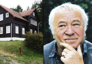 Herec Horníček odkázal chalupu svému lékaři.