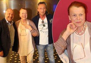 Janžurová v 74 letech poprvé okusí roli v muzikálu.