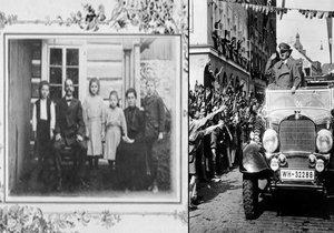 Rodinu paní Novotné nasilně odsunuli po přijetí mnichovské dohody ze Sudet.