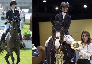 Eve Jobs a Jennifer Gates jdou svou vlastní cestou, kterou našly v závodění na koních.
