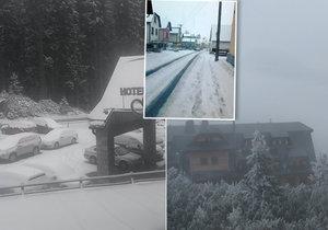 První sníh napadl měsíc před svatým Martinem