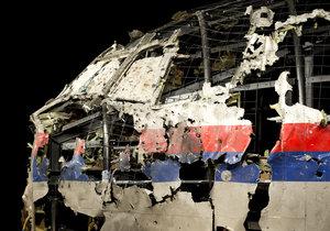 Sestavený čumák sestřeleného letadla