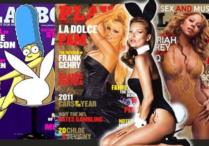 Ty nejvíce sexy obálky Playboye.