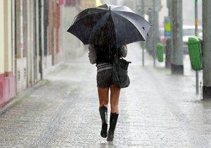 Pršet bude místy minimálně do pátku. Na východě Čech vytrvale.