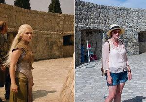 Nadšená fanynka navštívila místa, kde se natáčel seriál Game of Thrones.