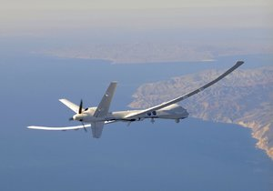Bezpilotní letoun ve vzduchu
