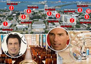 Scientologická církev má sídla za 3,5 miliardy.