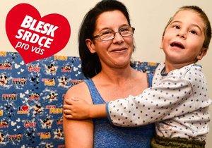 Maminka autisty Adámka (5) s dětskou mozkovou obrnou: Někdy se jen točí dokola