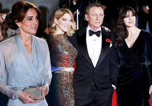 Kate oslnila krásou na premiéře filmu Spektrum.