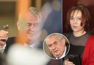Libuška Šafránková k medaili dostala i oříšky pro Popelku.