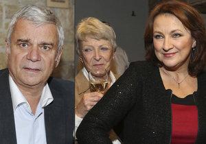 Jana Štěpánková má se svojí švagrovou Zlatou Adamovskou výborný vztah.