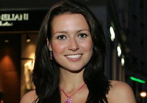 Česká vicemiss 2007 Eva Čerešňáková v začátcích kariéry trpěla anorexií.