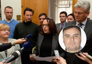 Zástupci dnes už rozpadlé pražské koalice v čele s primátorkou Adrianou Krnáčovou (ANO) a komentátor Petr Holec