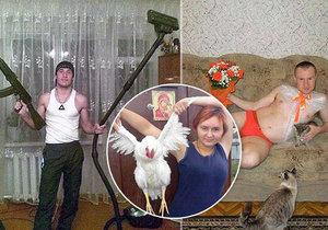 Svůdné fotky z ruských seznamek