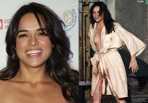 Herečka Michelle Rodriguez musela přetrpět znásilnění. Naštěstí jen ve filmu.