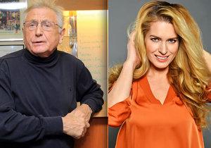 Olga Menzelová žije se starším mužem, a tak čelí pomluvám, že je zlatokopka. Manželka režiséra Jiřího Menzela se tomu ale jen směje.