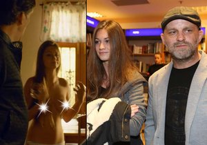 Mladičká přítelkyně herce Hynka Čermáka Veronika Macková v druhém dílu filmu Gangster Ka: Afričan odhalila prsa!